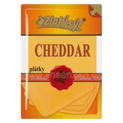 Zlatý Sýr Cheddar plátky 100g (HDB_20n)