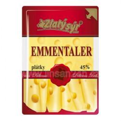 Zlatý Sýr Ementaler plátky 100g (HDB_20n)