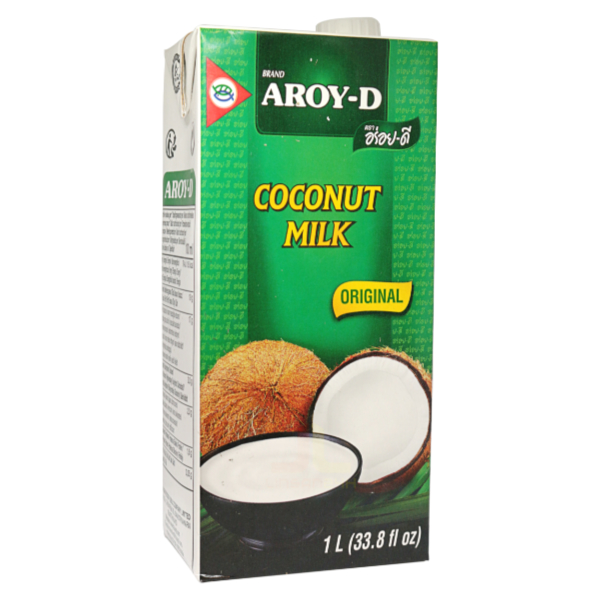 Kokosové Mléko - AROY-D 1L - Sua Dua (Hop giay)