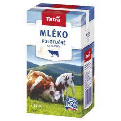 Tatra Mléko Trvanlivé 1L Polotučné 1.5%