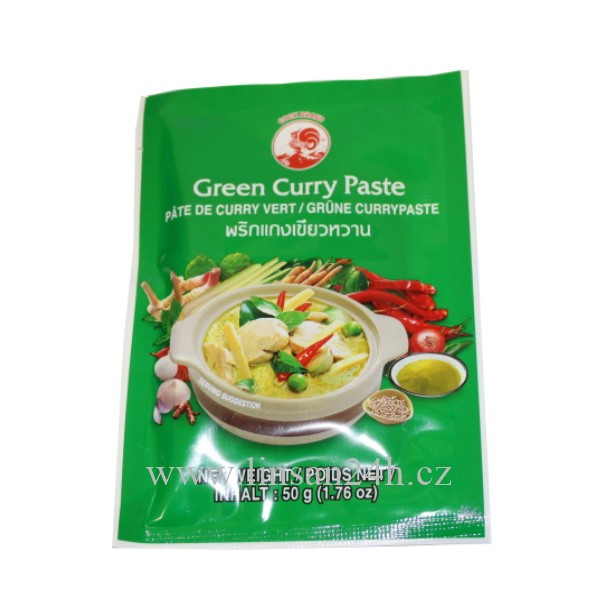 Kari Pasta 50g Green Curry - Zelená